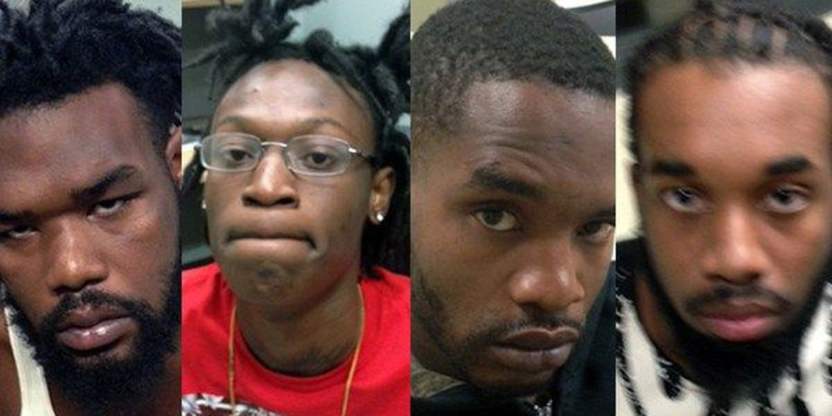 Four indicted for shooting following argument on highway in Gonzales