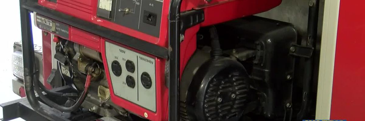 Important tips when using a generator after Hurricane Delta