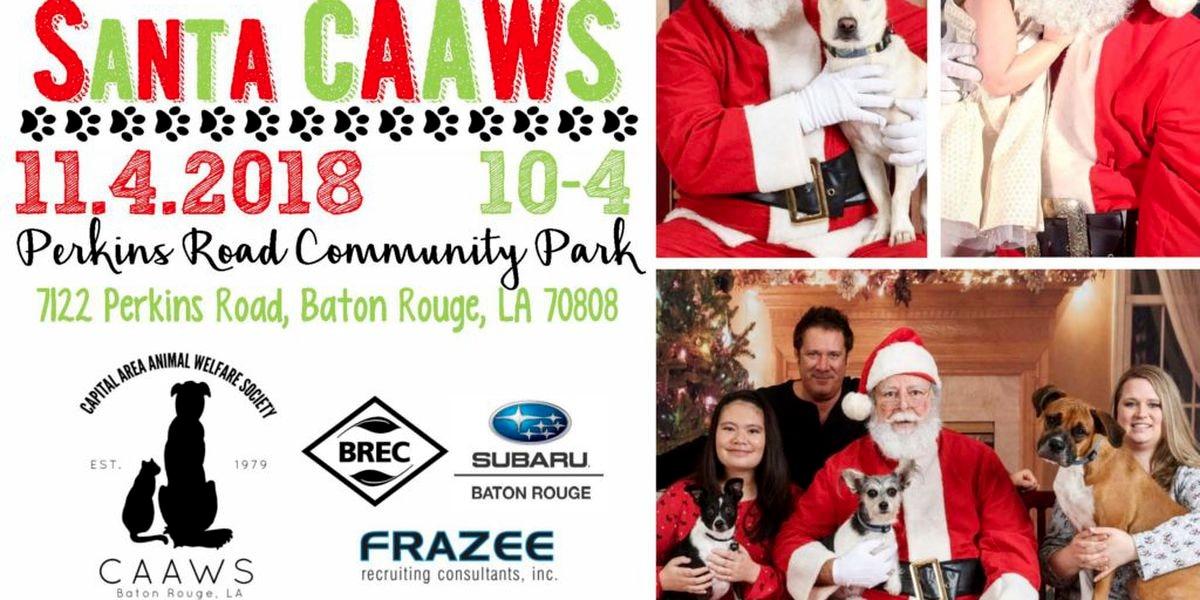 CAAWS hosting annual 'Santa CAAWS' fundraiser in November