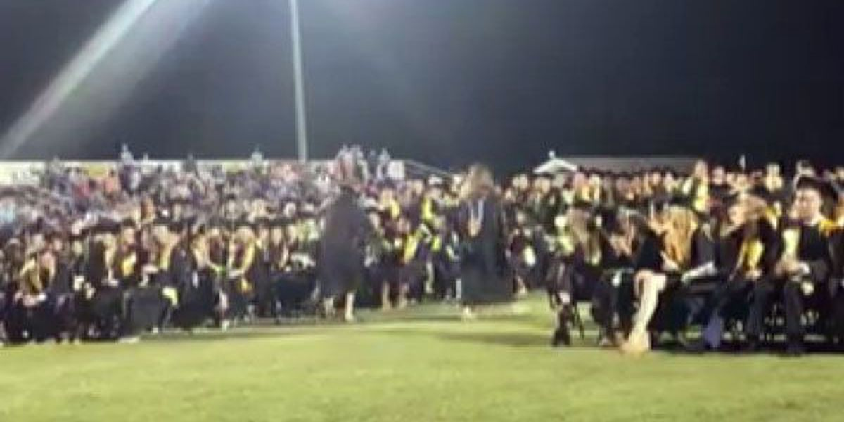 Go Sami! Student body creates truly special moment at graduation