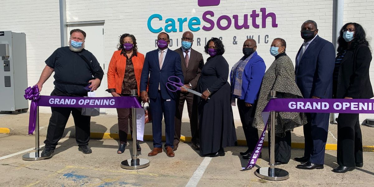 CareSouth announces grand opening of its Rose V. Forrest/CareSouth Pediatrics and WIC Clinic, building is named in honor of former CEO