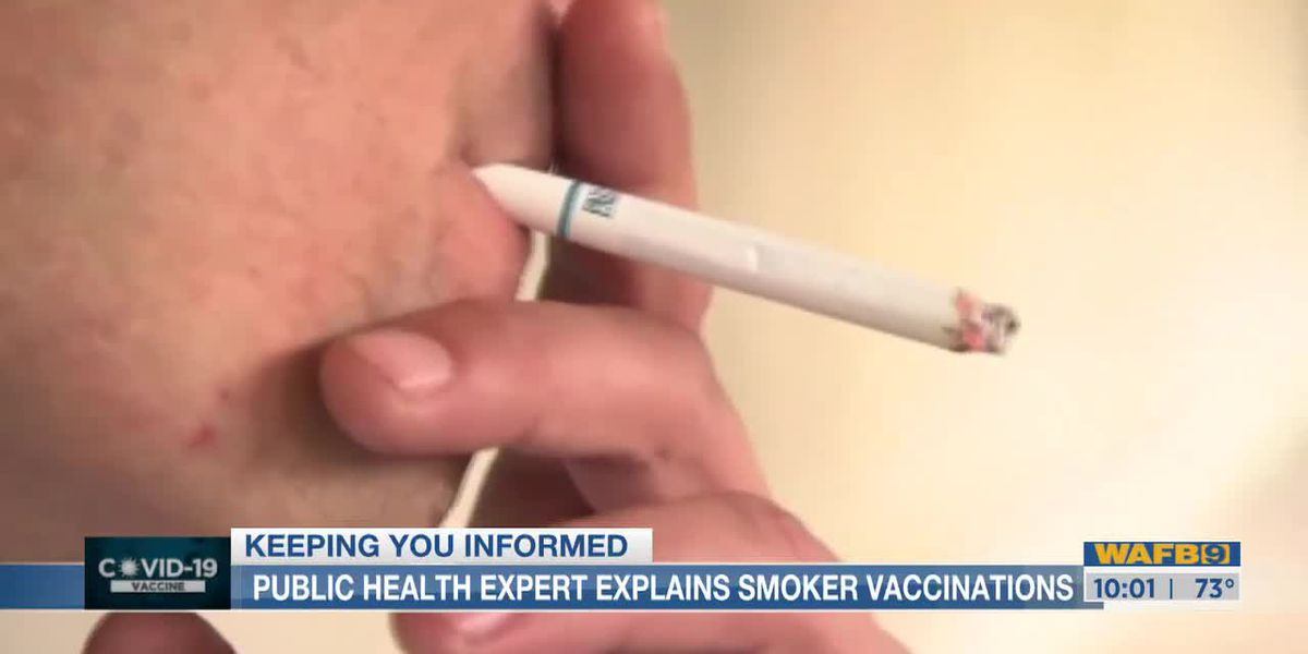 Smokers vaccine controversy