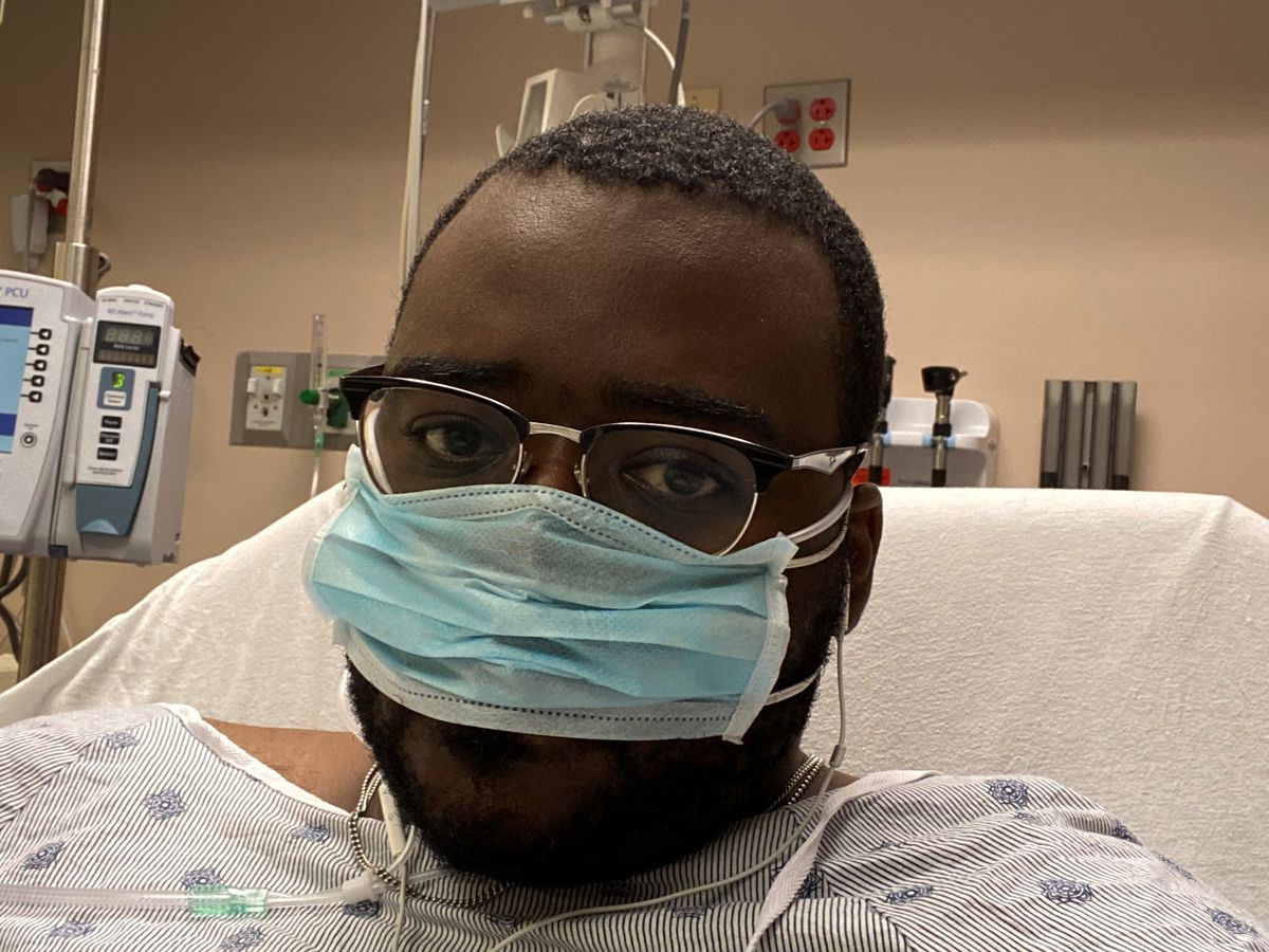 COVID-19 survivor shares his experience with the virus