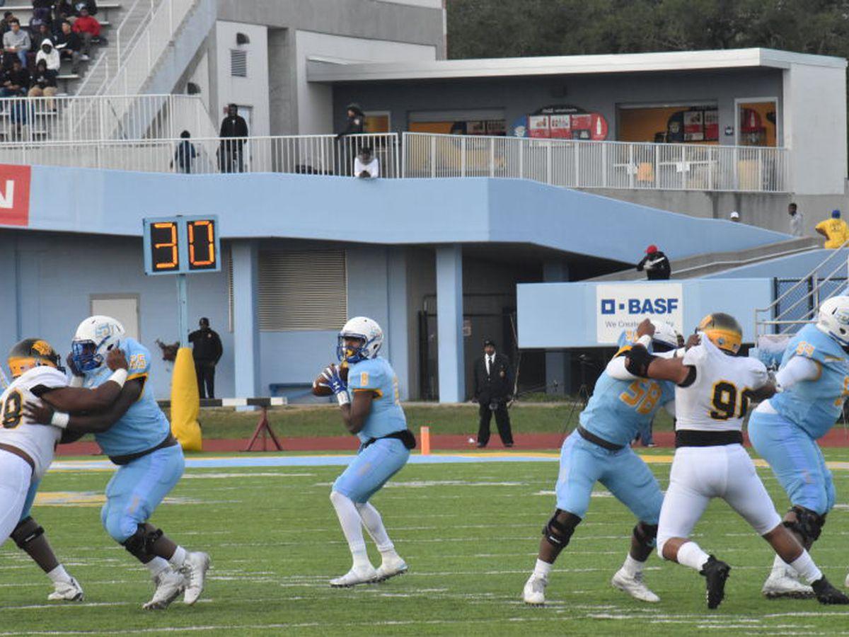 Southern dominates UAPB, 56-24