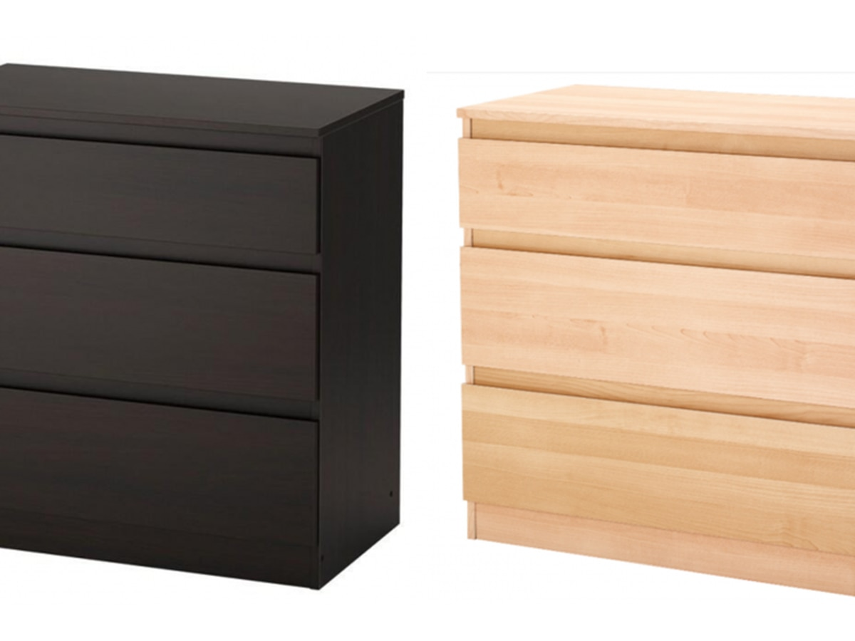 Children can be injured, entrapped by recalled IKEA dressers