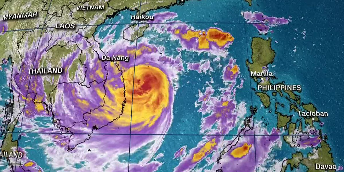 Officials say Molave was the worst typhoon to hit the country in 20 years