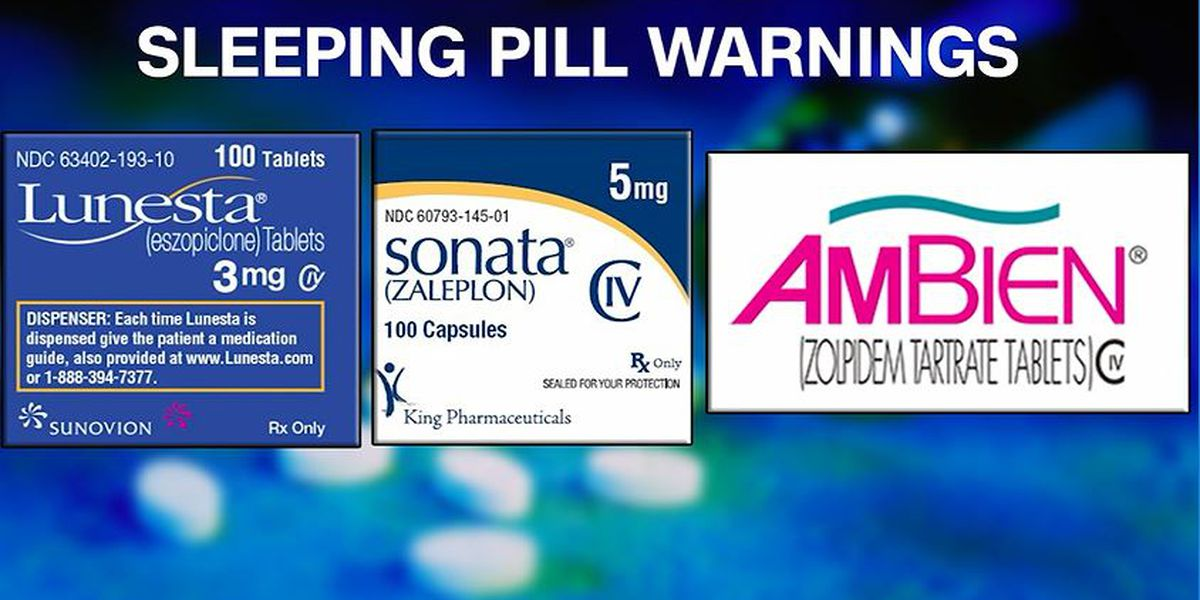 FDA strengthening warnings for some popular sleep aids