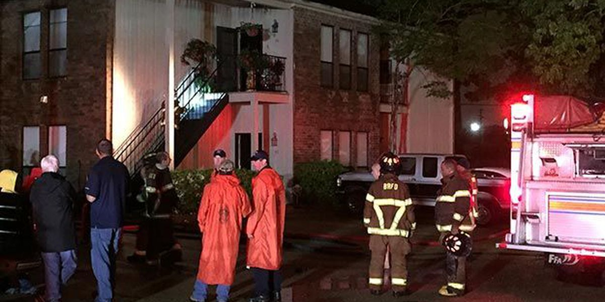 Officials investigating the cause of Sunday night two-alarm apartment fire