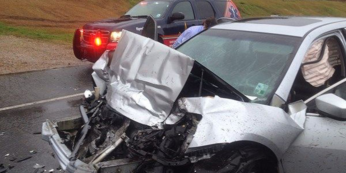 Crash in East Feliciana Parish sends 1 to the hospital