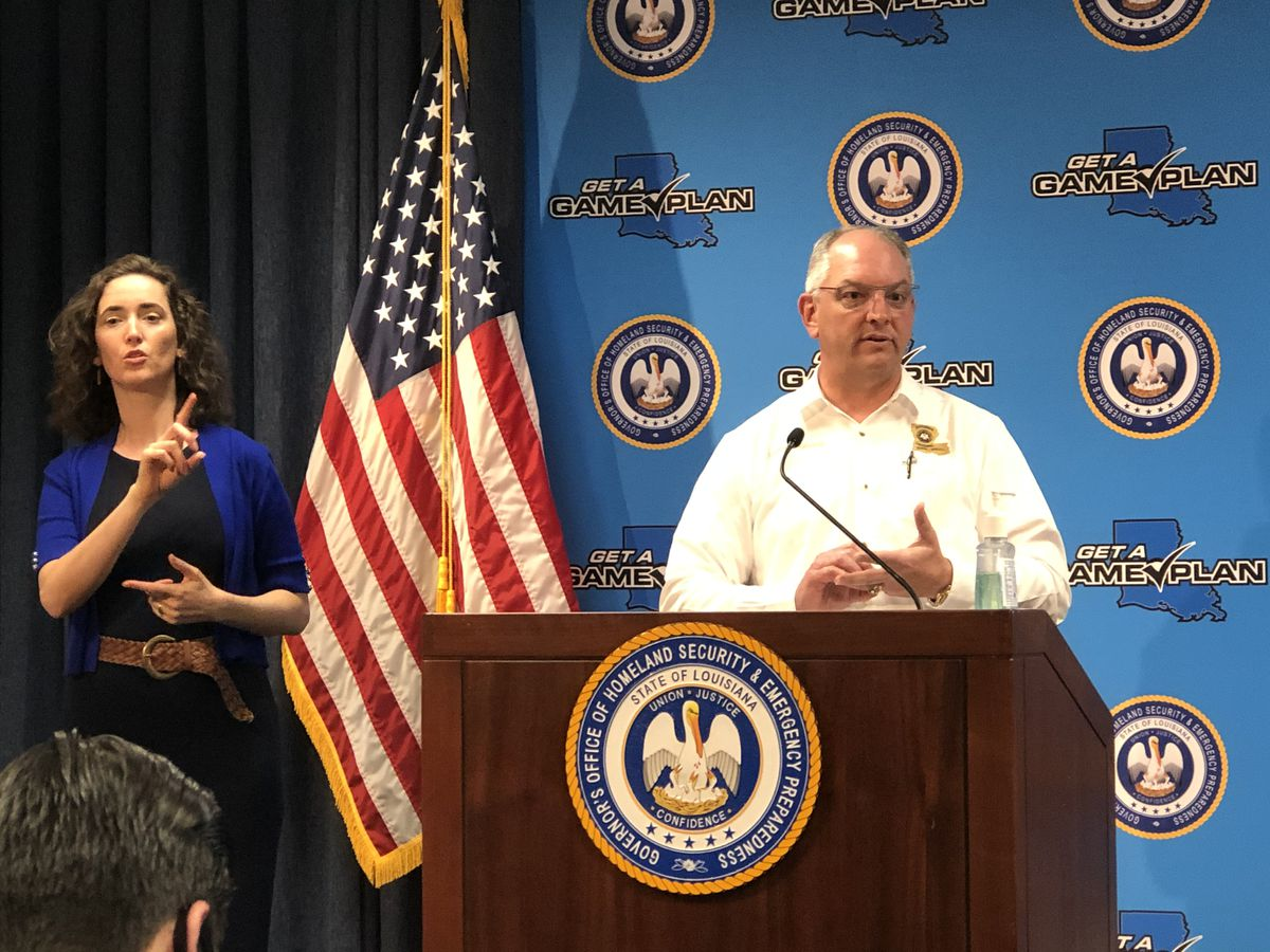 Gov. Edwards says one of his staffers has tested positive for COVID-19; several others quarantined