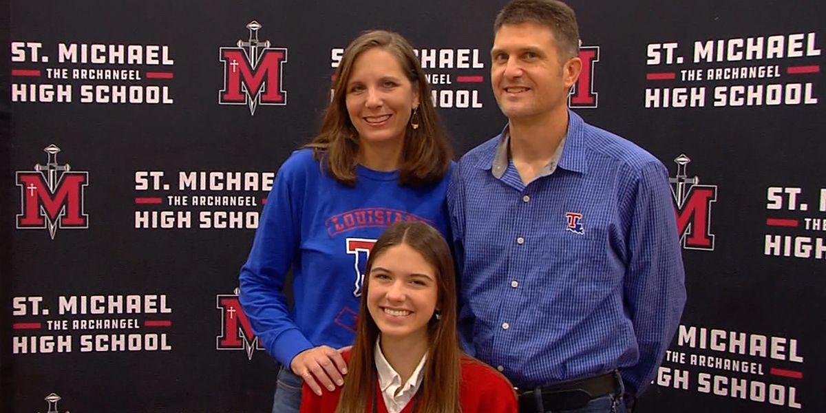 St. Michael's track and field athlete Rebecca Quebedeaux signs with La. Tech