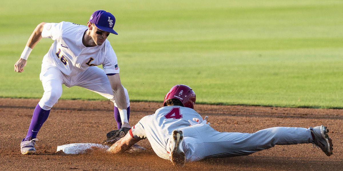 LSU baseball falls to Alabama in Game 2, 6-1