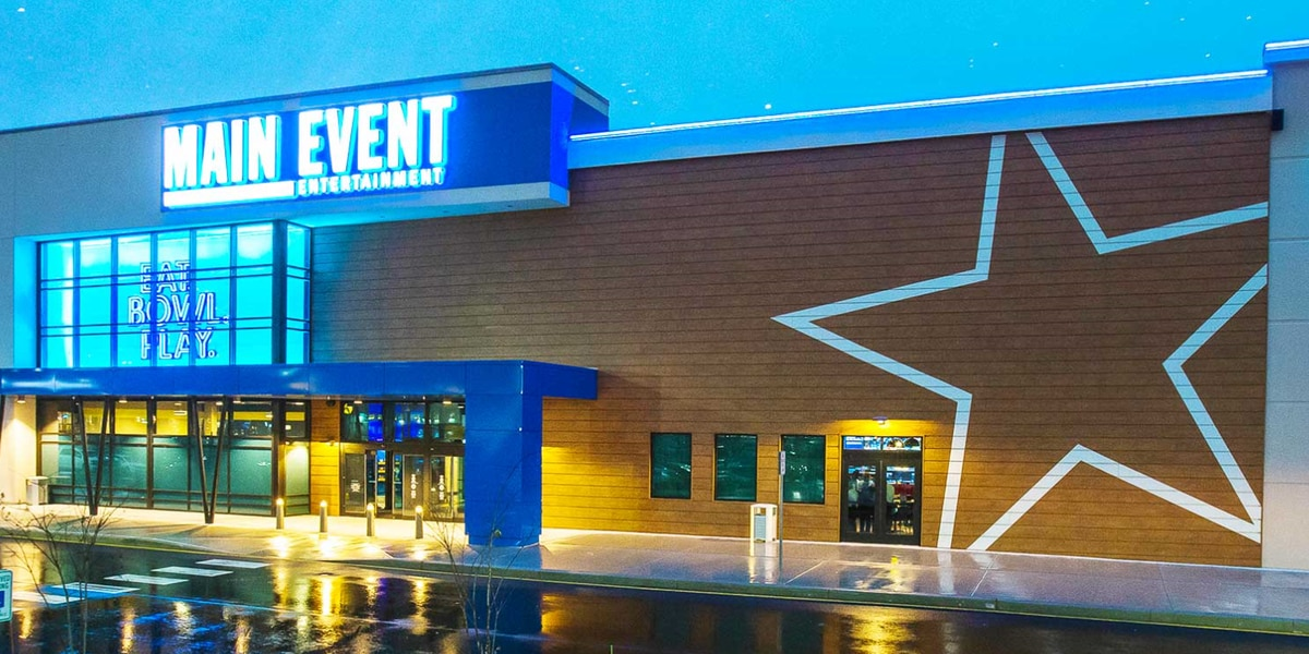 Main Event bowling alley, arcade venue coming to Mall of Louisiana summer 2019