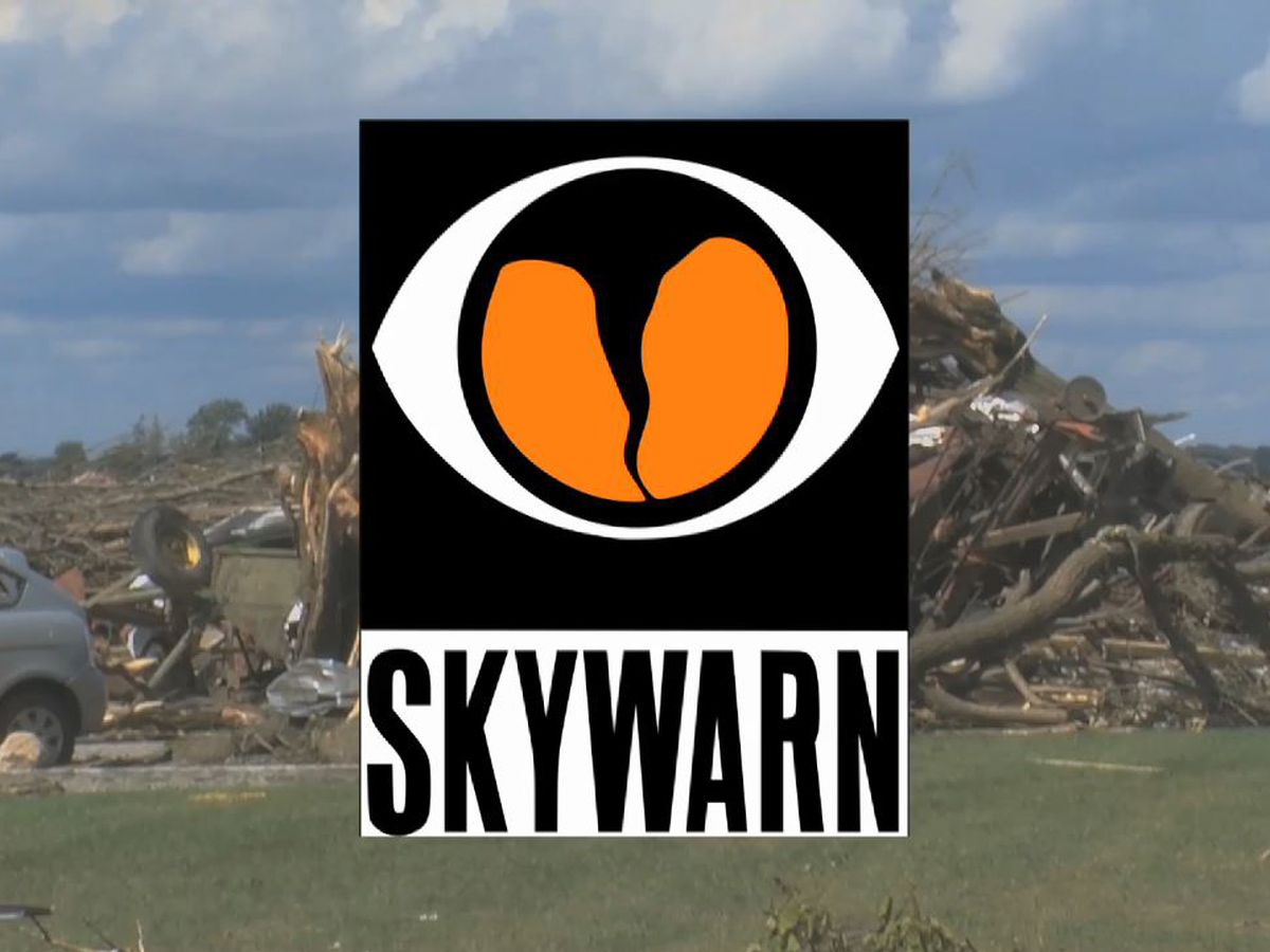 Storm spotters for SKYWARN program get important training