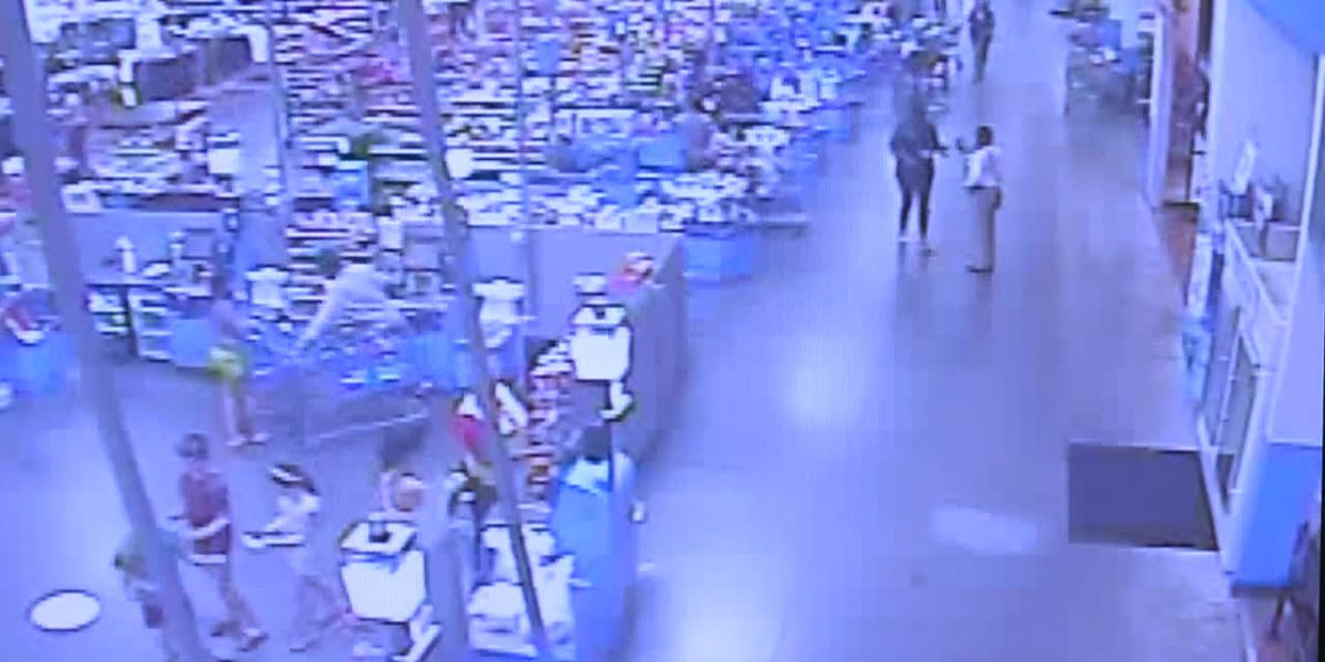 Surveillance video from Aug. 6, 2019 at Walmart on Burbank Drive in Baton Rouge