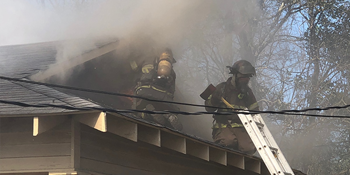 Firefighters: Burned out truck causes house fire