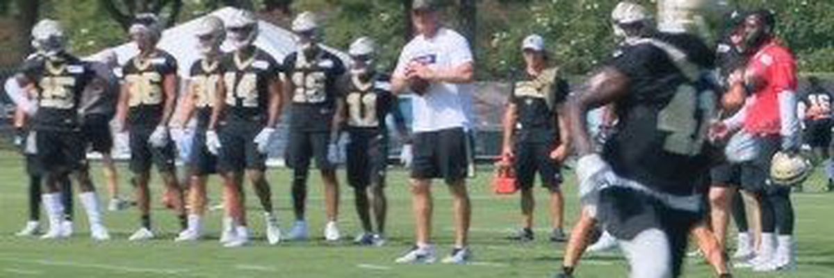 Saints beat the heat for Day 1 of training camp
