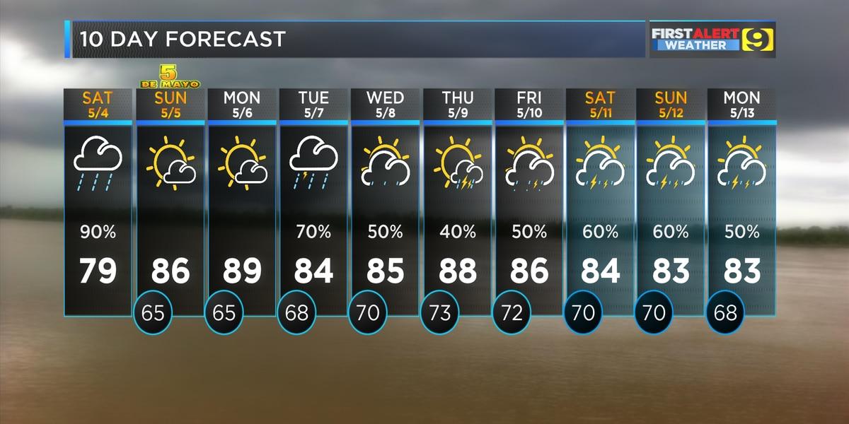 Thunderstorm, tornado warnings accompany Saturday storms