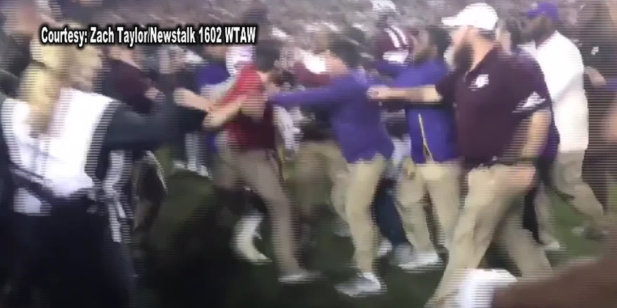 Texas A&M fined $50000 for rushing the field after win over LSU