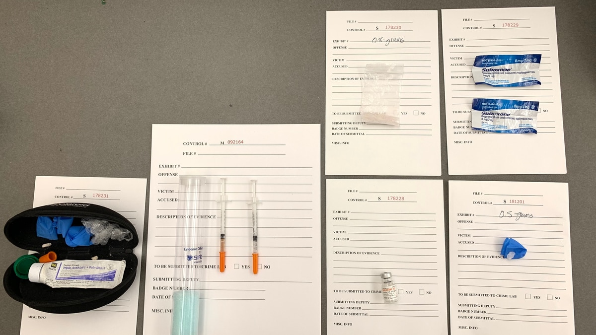 EBRSO: Woman plans to throw drugs over prison fence; arrested in parking lot