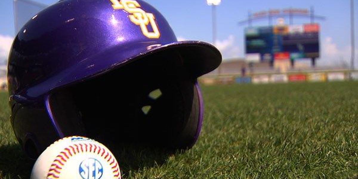 LSU beats Auburn 3-2 in game 1 after two hour delay