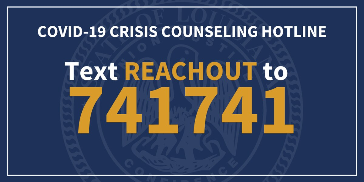 New crisis counseling text line now available in La.