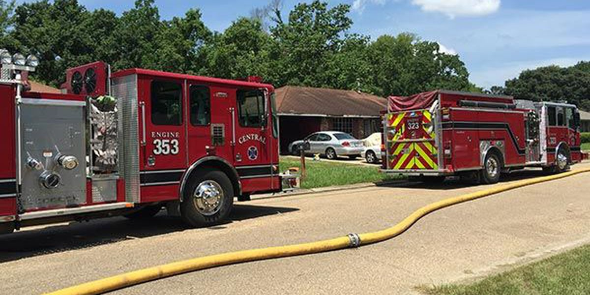 3 fire departments respond to house fire on Kilona Drive
