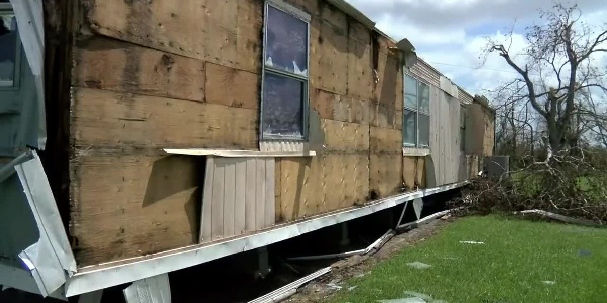 Cameron Parish residents come back to damage