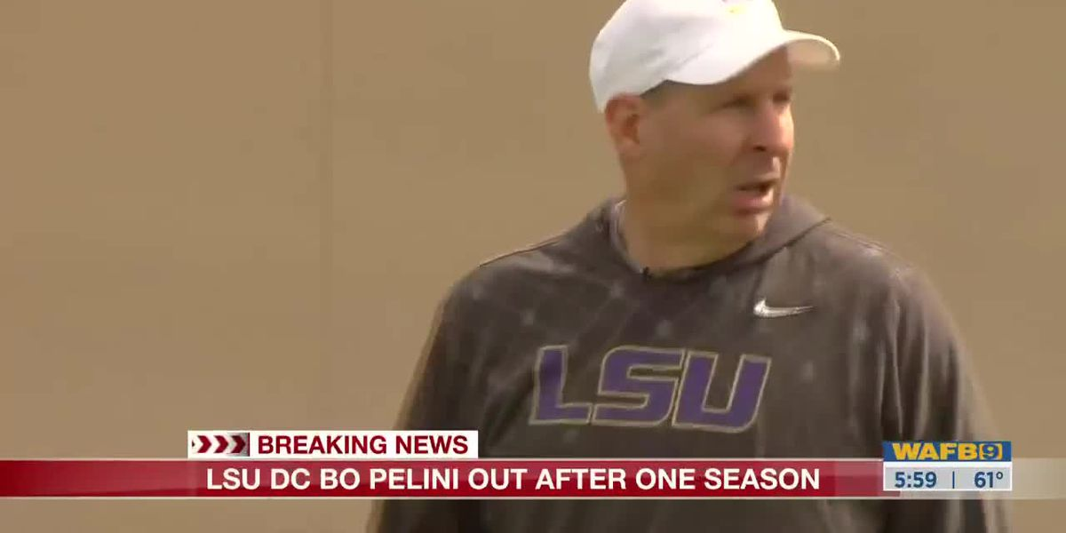 LSU parting with defensive coordinator Bo Pelini after one season