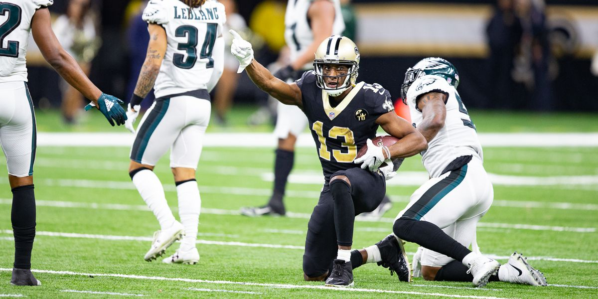 Did Michael Thomas just throw away Super Bowl tickets?