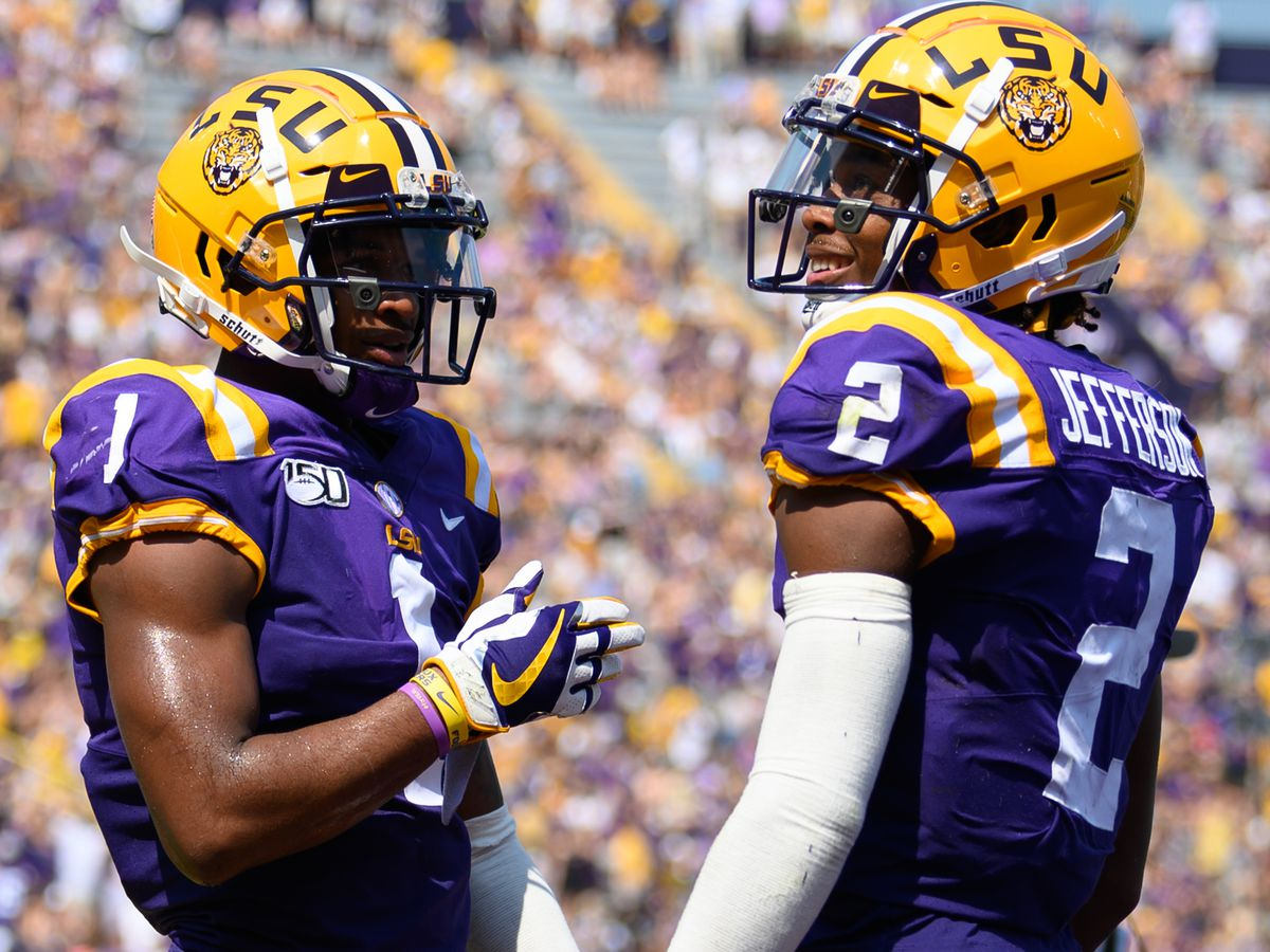 No. 1 LSU returns to the practice field to begin preps for Ole Miss but without a few key players