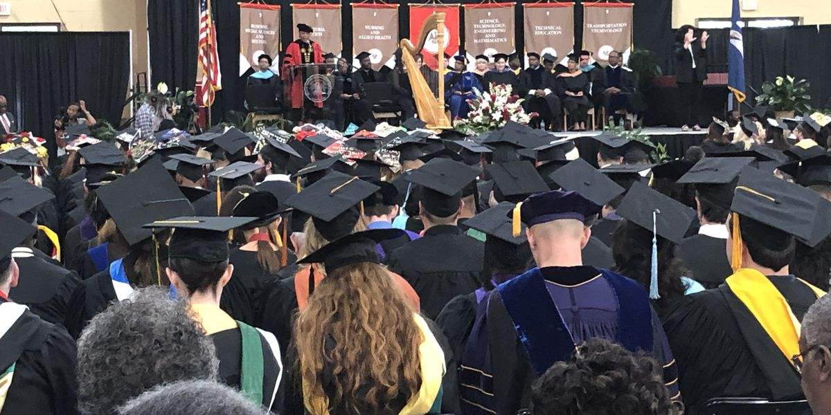 Hundreds graduate at BRCC's 22nd commencement ceremony