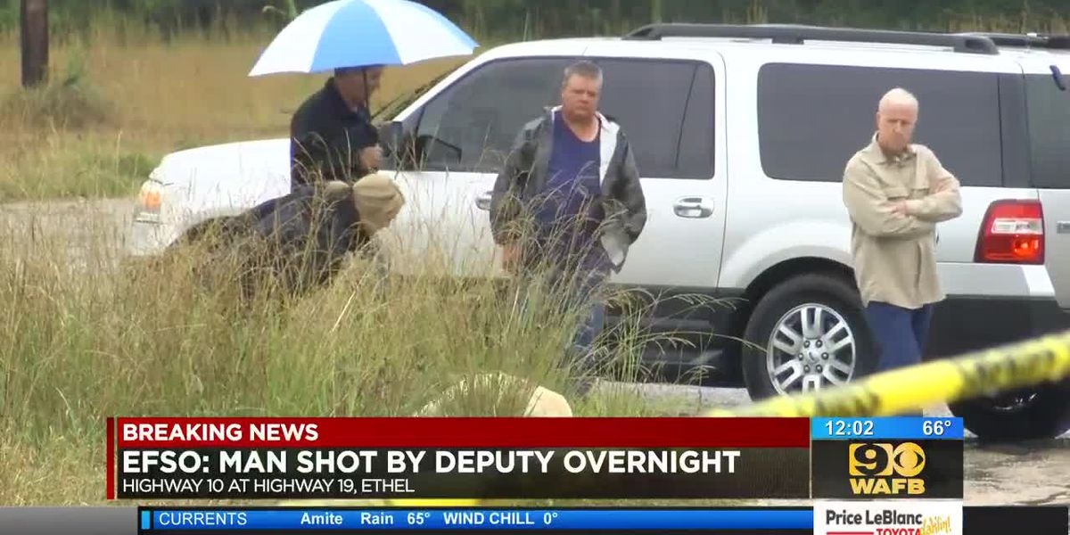 Deputy placed on leave after fatal shooting in Ethel