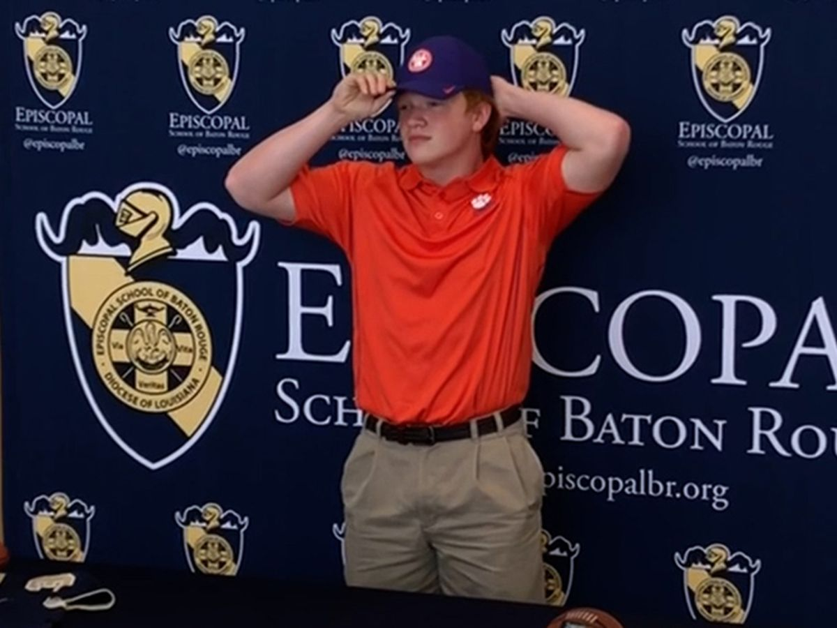 Episcopal's Tristen Rigby heads to Clemson as walk-on
