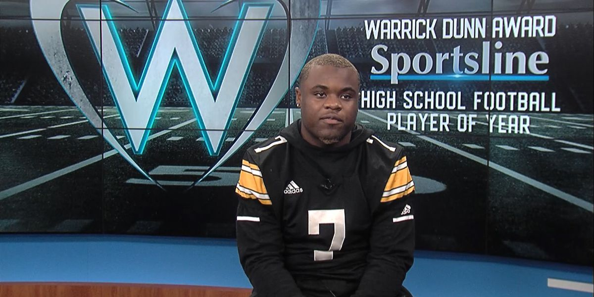 WARRICK DUNN FINALIST: Mike Hollins - U-High RB