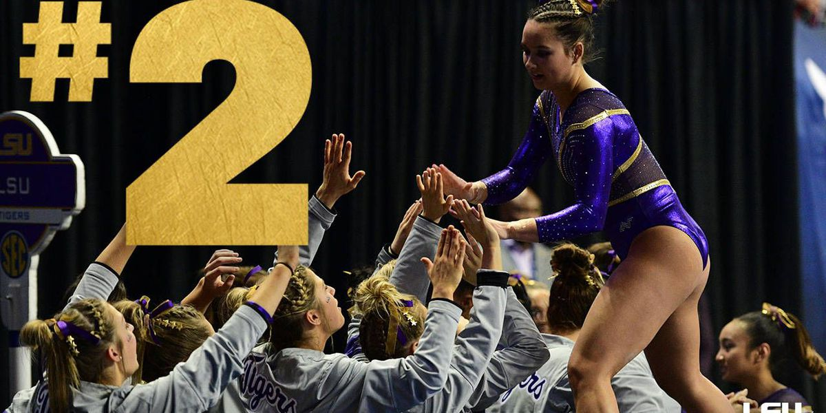 Gymnastics heads into NCAA postseason ranked No. 2