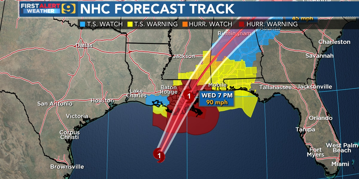 Prepare for signifiant wind impacts as Zeta nears landfall