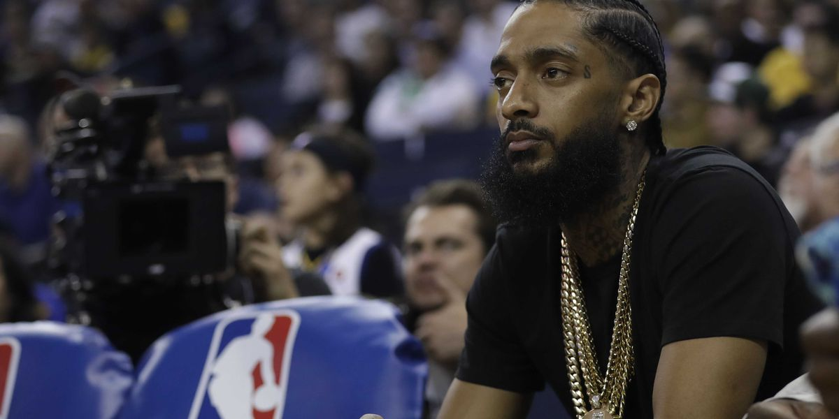 Rapper Nipsey Hussle dead after shooting at LA store, TMZ reports