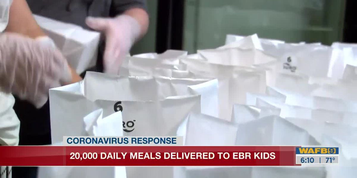 Local non-profits, food truck owners come together to feed EBR children - 6 a.m.