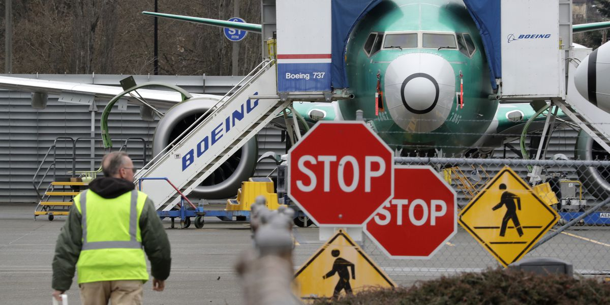 Boeing to halt production of 737 Max airliner in January