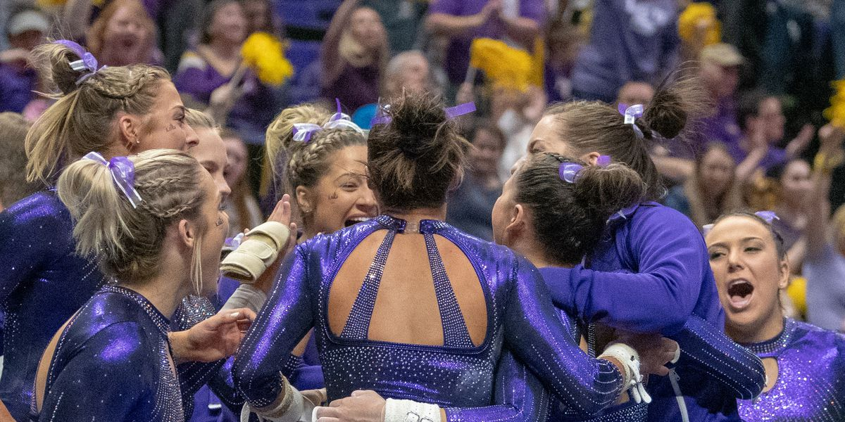 No.4 LSU to host Oregon State on senior night