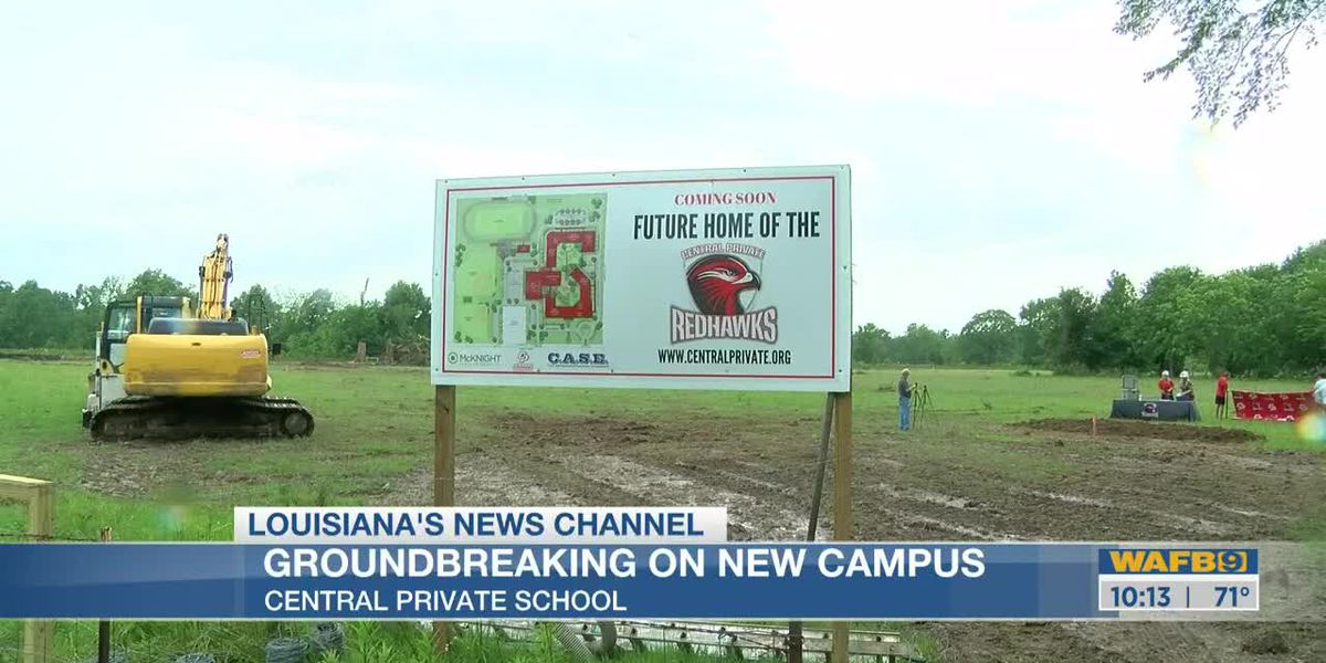Central Private holds groundbreaking ceremony for new campus