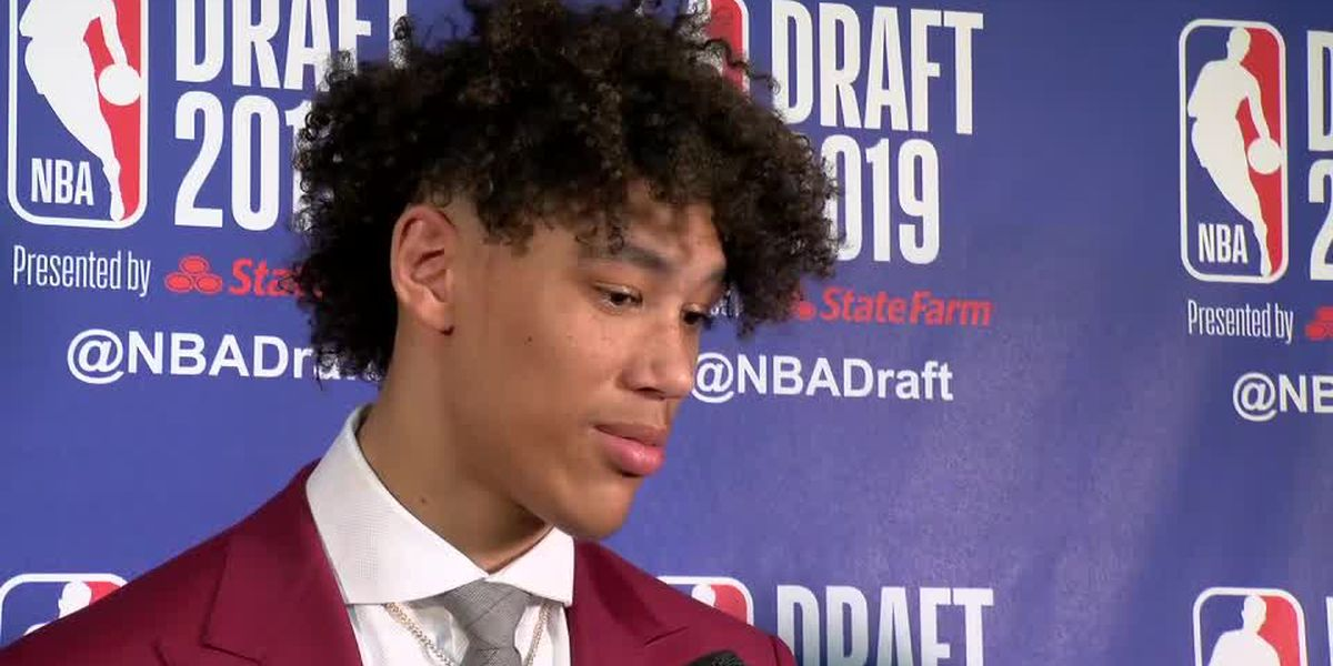 Pelicans select Jaxson Hayes with their second pick of the first round