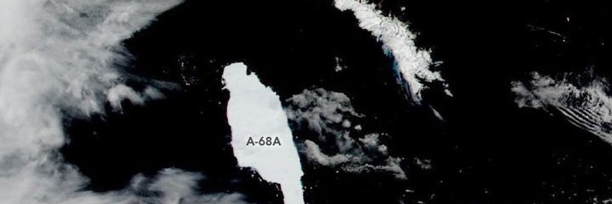 British science mission to Delaware-sized A-68a iceberg