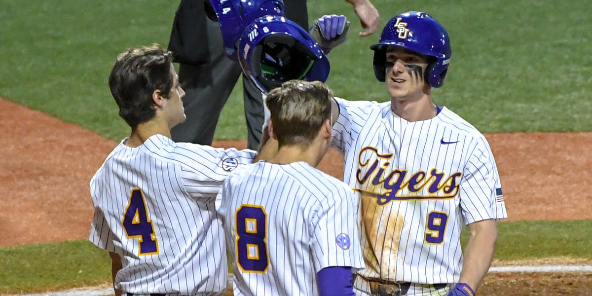 No. 10 LSU baseball rebounds with easy win over Texas Southern