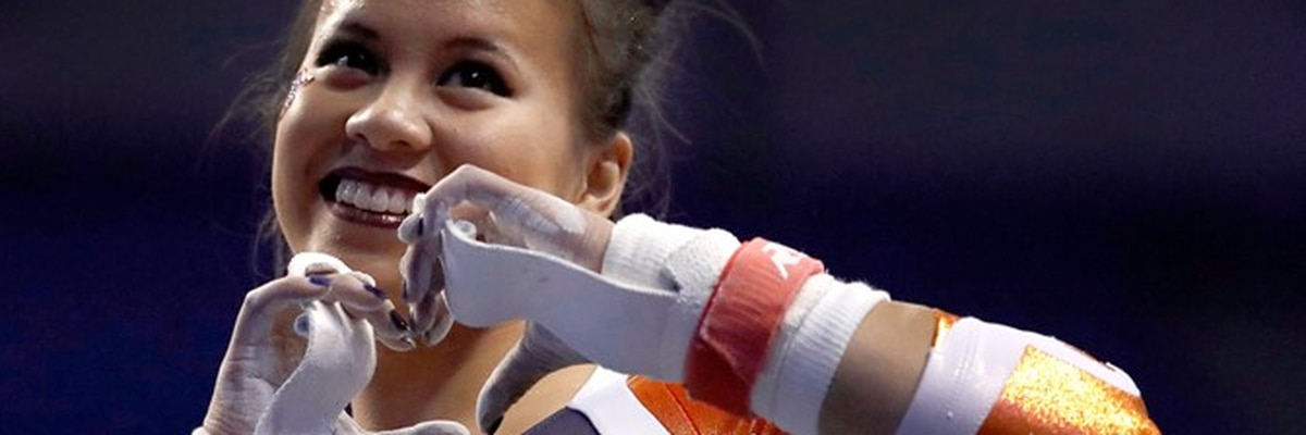 Report: Auburn gymnast who injured both legs in viral video will start career at Boeing SC