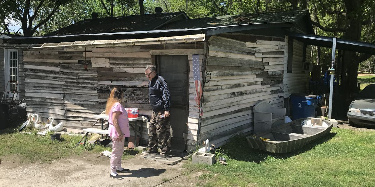 Family requesting help after they've been living under carport since 2016 flood