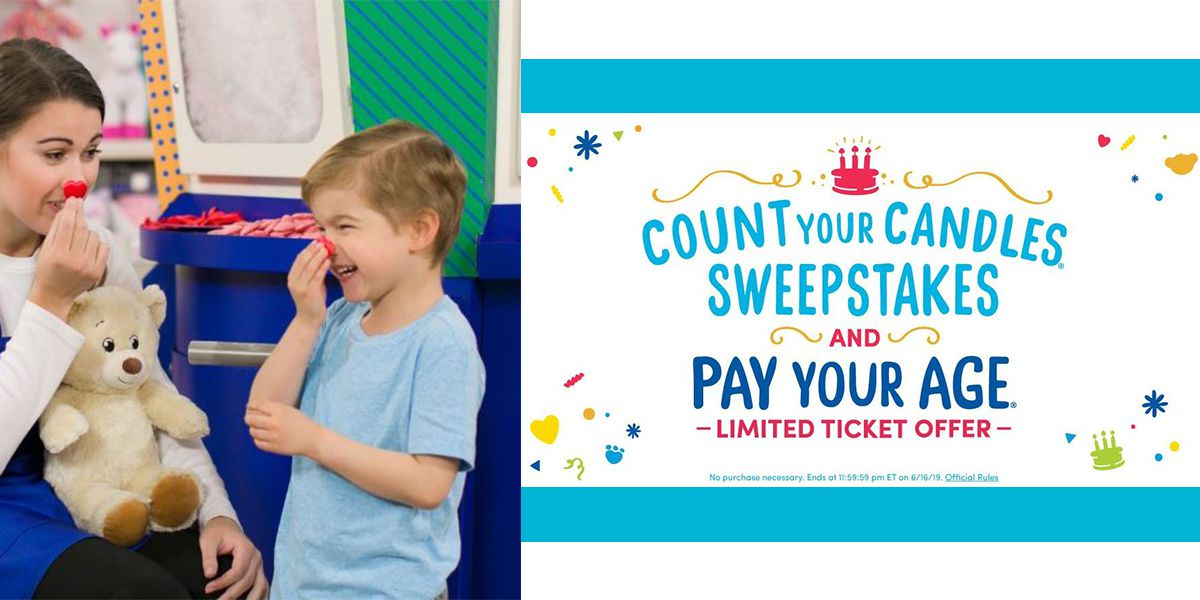 Build-A-Bear's 'Pay Your Age' promo is back - with limits