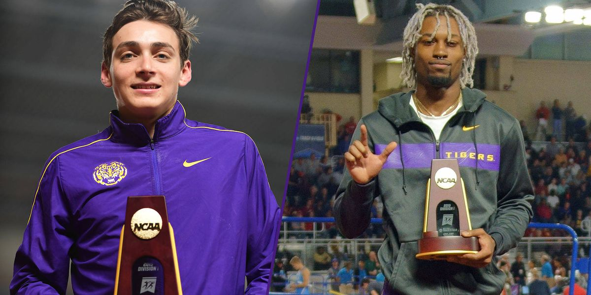 LSU's Duplantis, Grey win 2019 NCAA indoor national championships