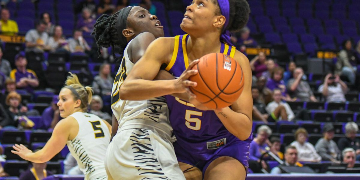 LSU rallies in second half for 61-51 win over Mizzou